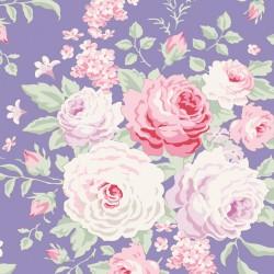 Lydia Blue - coupon 50x55cm - tissu Tilda