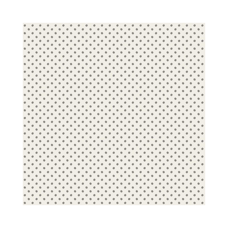 Tiny Dots Grey - coupon 50x110cm - tissu Tilda