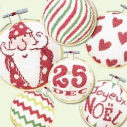 Les boules de Noël 3 - Lilipoints - pack complet
