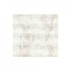 Aïda Zweigart 7pts/cm - 35x45cm - blanc marbré gris