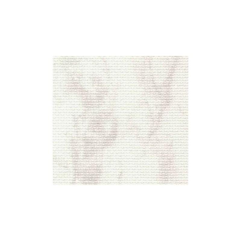 Aïda Zweigart 7,0pts/cm - 50x55cm - blanc marbré gris