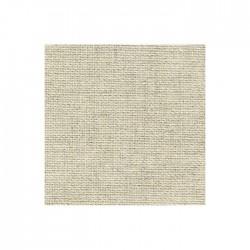 Toile Aïda Zweigart 8fils/cm - largeur 110cm - lin naturel clair