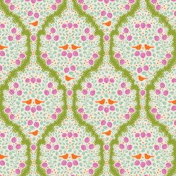 Lemonade Green - coupon 50x110cm - tissu Tilda