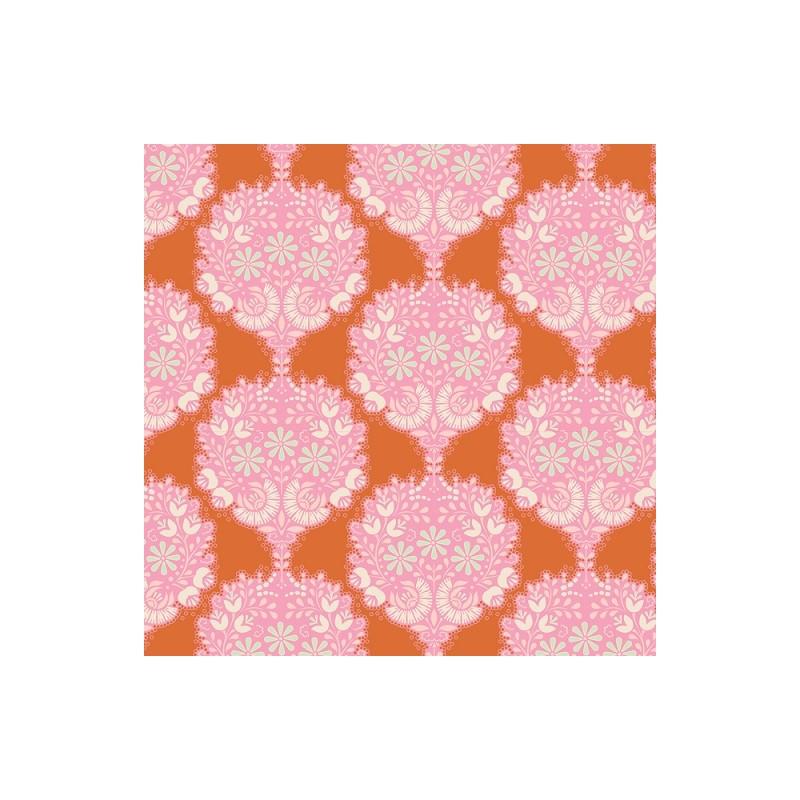 Flower Tree Ginger - coupon 50x110cm - tissu Tilda