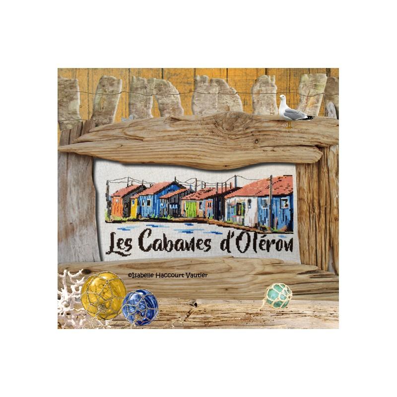 Les cabanes d'Oléron - Isabelle Haccourt Vautier