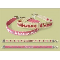 Bracelet ficelle - Semi-kit - Lilipoints