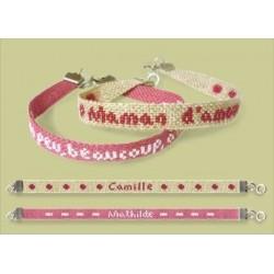 Bracelet ficelle - Semi-kit - Lilipoints