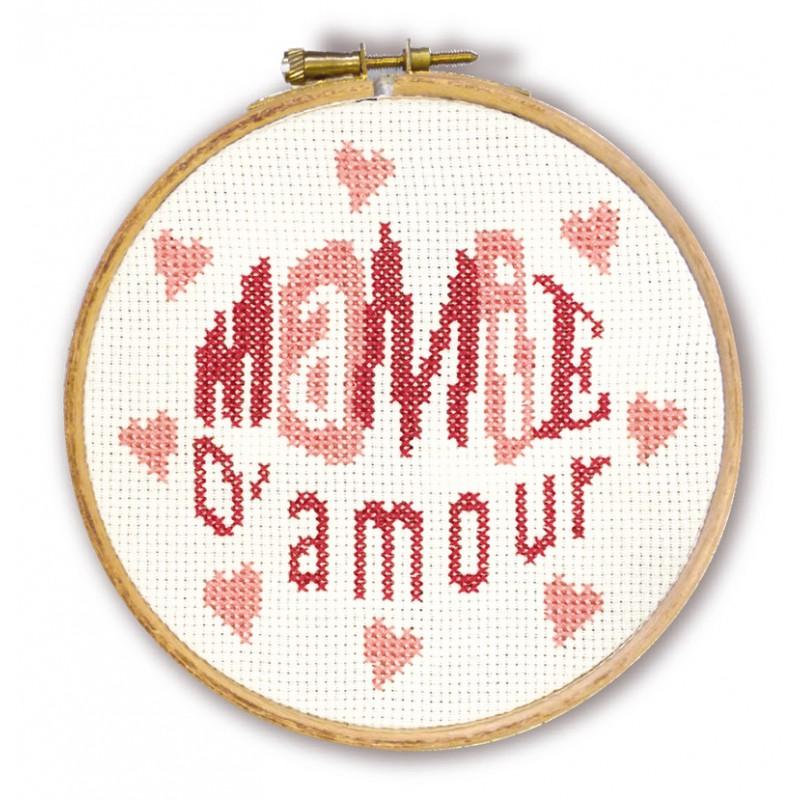 Mamie d'amour - Mini-kit pour enfant - Lilipoints