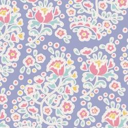 Charlene Blue - coupon 50x55cm - tissu Tilda