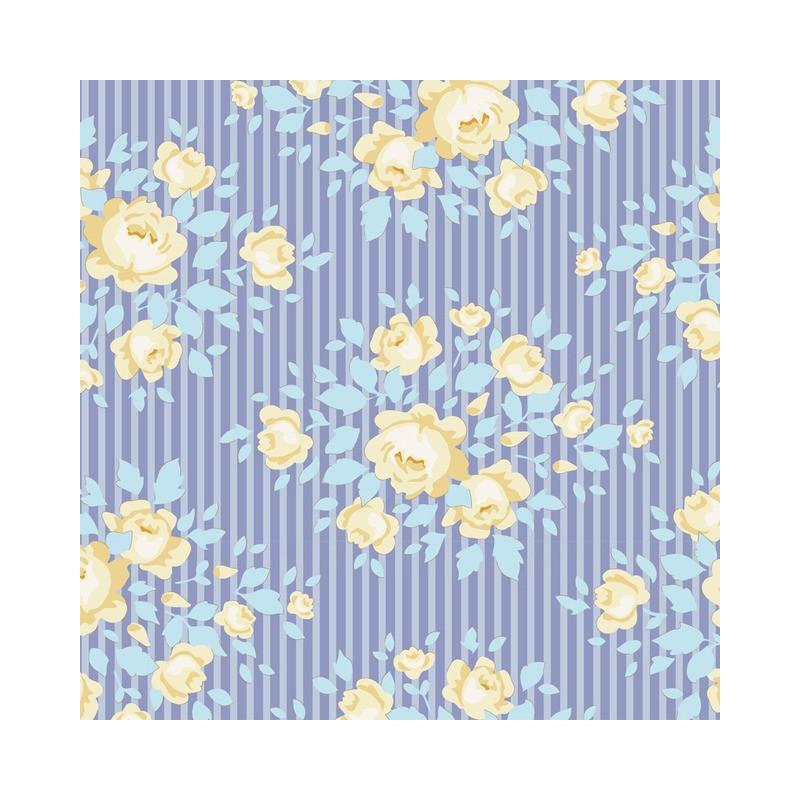 Marylou Blue - coupon 50x110cm - tissu Tilda