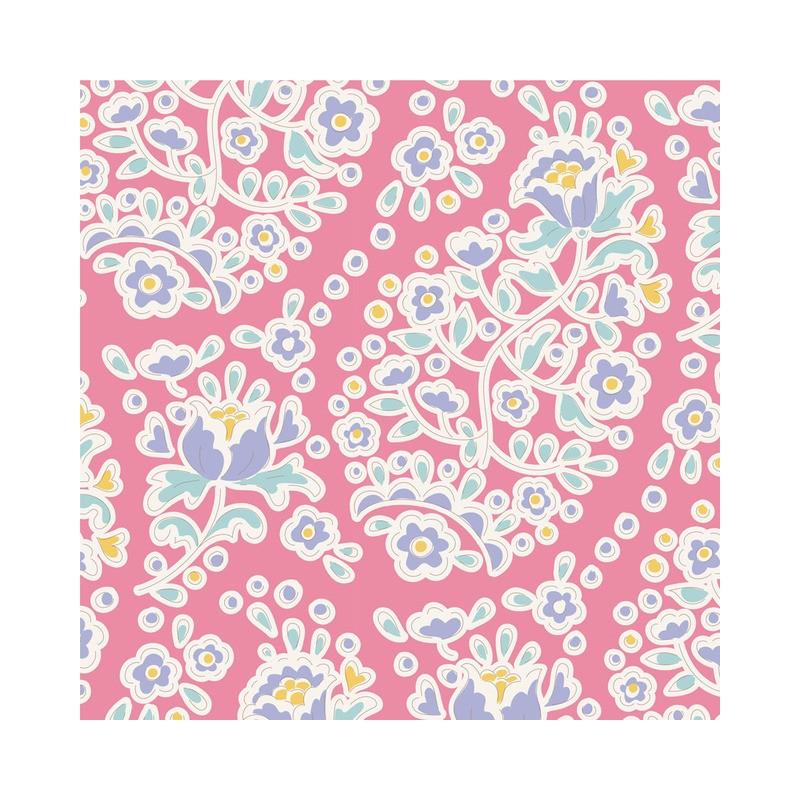 Charlene Rose - coupon 50x110cm - tissu Tilda