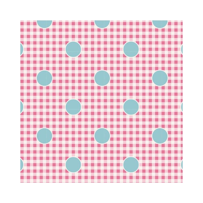 Gingdot Rose - coupon 50x55cm - tissu Tilda
