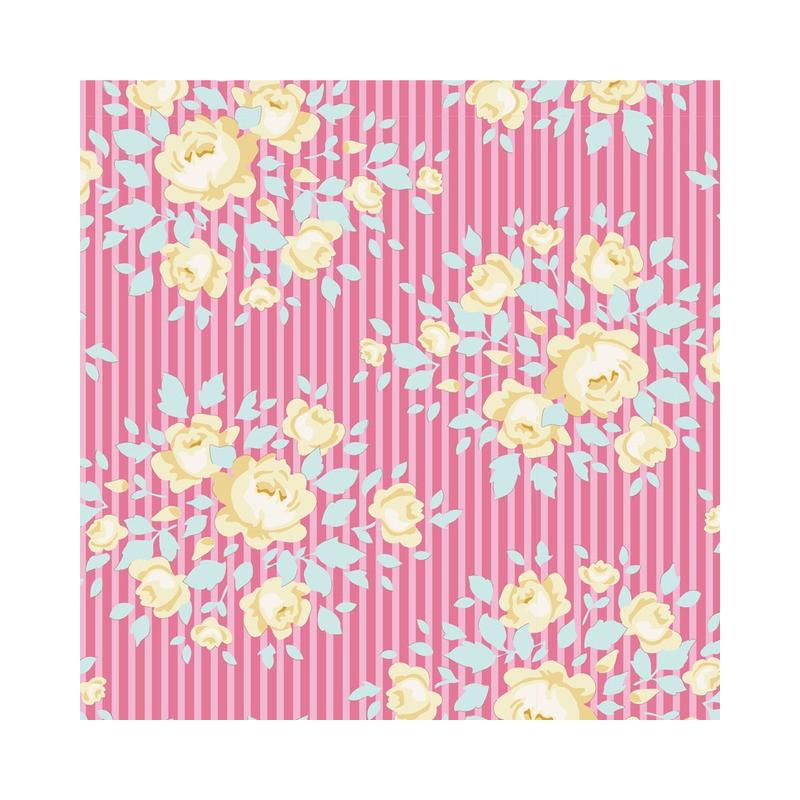 Marylou Rose - coupon 50x55cm - tissu Tilda