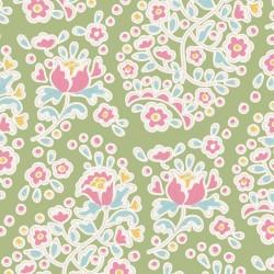 Charlene Green - coupon 50x110cm - tissu Tilda
