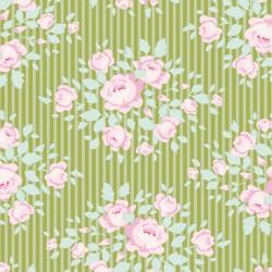 Marylou Green - coupon 50x55cm - tissu Tilda