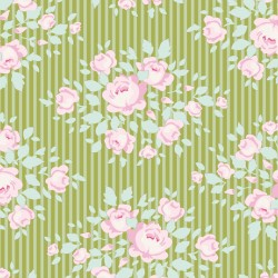 Marylou Green - coupon 50x110cm - tissu Tilda