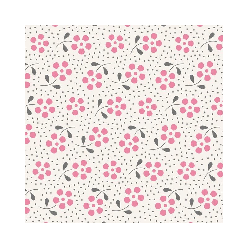 Meadow Pink - coupon 50x110cm - tissu Tilda