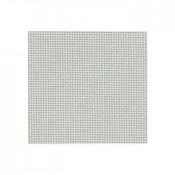 Toile Bellana Zweigart 8fils/cm - largeur 140cm - gris perle