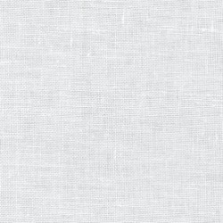 Lin Zweigart Bristol 18fils/cm - largeur 150cm - blanc