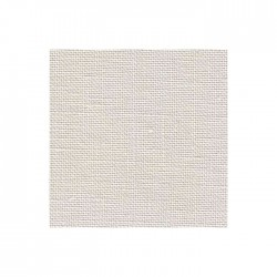 Lin Zweigart Belfast 12,6 fils/cm - largeur 140cm - gris perle