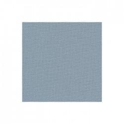 Toile Murano Zweigart 12,6fils/cm - laize 140cm - bleu gris