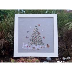Noël dans la forêt - Couleur d'Etoile