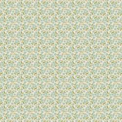 Forget Me Not Teal - coupon 50x110cm - tissu Tilda