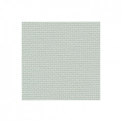 Aïda Zweigart 8pts/cm - largeur 110cm - gris vert clair
