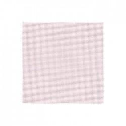 Toile Aïda Zweigart 8fils/cm - largeur 110cm - rose pâle