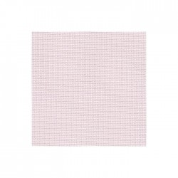 Toile Aïda Zweigart 8pts/cm - largeur 110cm - rose pâle