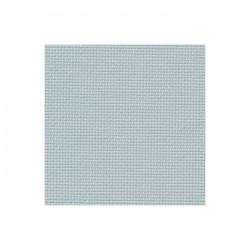 Toile Aïda Zweigart 8pts/cm - largeur 110cm - gris vert