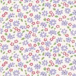 Lilit Blue - coupon 50x110cm - tissu Tilda