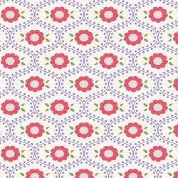 Elsie Blue - coupon 50x110cm - tissu Tilda