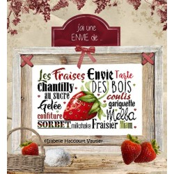 Une envie de fraises - Isabelle Haccourt Vautier