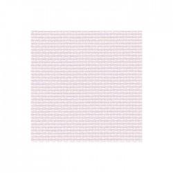 Aïda Zweigart 7pts/cm - largeur 110cm - parme rosé