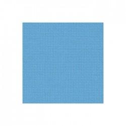 Aïda Zweigart 7pts/cm - largeur 110cm - bleu