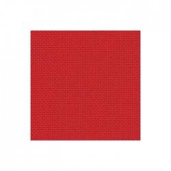 Toile Aïda Zweigart 7pts/cm - largeur 110cm - rouge