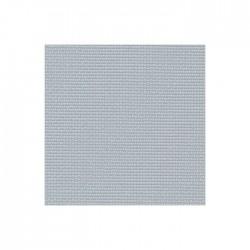 Toile Aïda Zweigart 7pts/cm - largeur 110cm - gris vert