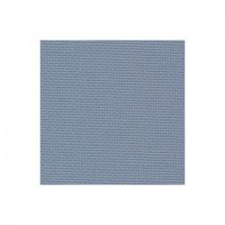 Toile Aïda Zweigart 7pts/cm - largeur 110cm - bleu jean