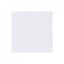 Toile Aïda Zweigart 7pts/cm - largeur 110cm - gris blanchi
