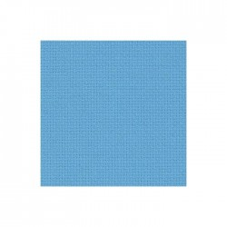 Toile Aïda Zweigart 7fils/cm - 35x45cm - bleu