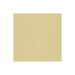 Toile Aïda Zweigart 7fils/cm - 50x55cm - beige