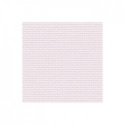 Toile Aïda Zweigart 7fils/cm - 50x55cm - parme rosé