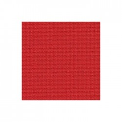 Aïda Zweigart 7pts/cm - 50x55cm - rouge