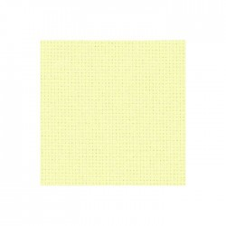 Toile Aïda Zweigart 5,4fils/cm - largeur 110cm - vanille