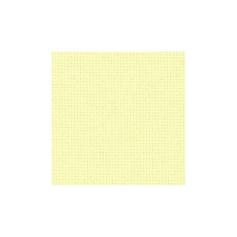 Aïda Zweigart 5,4pts/cm - largeur 110cm - vanille