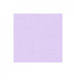 Toile Aïda Zweigart 5,4fils/cm - largeur 110cm - lilas pâle