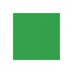 Toile Aïda Zweigart 5,4fils/cm - largeur 110cm - vert noël