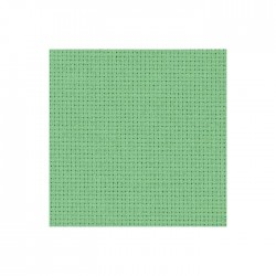 Aïda Zweigart 5,4pts/cm - largeur 110cm - vert amande