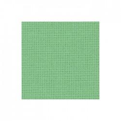 Toile Aïda Zweigart 5,4fils/cm - largeur 110cm - vert amande